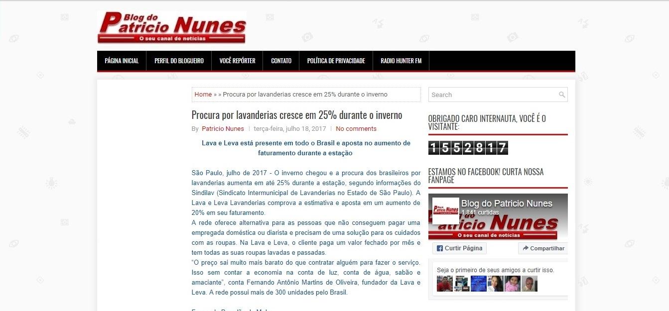 Blog Patricio Nunes