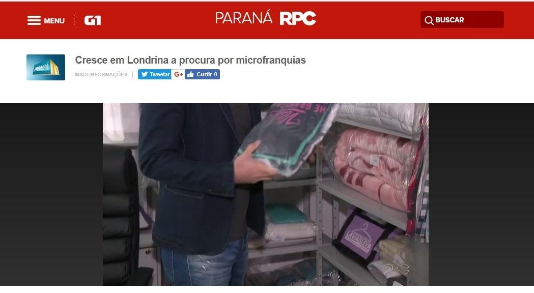Portal G1 - RPC Paraná
