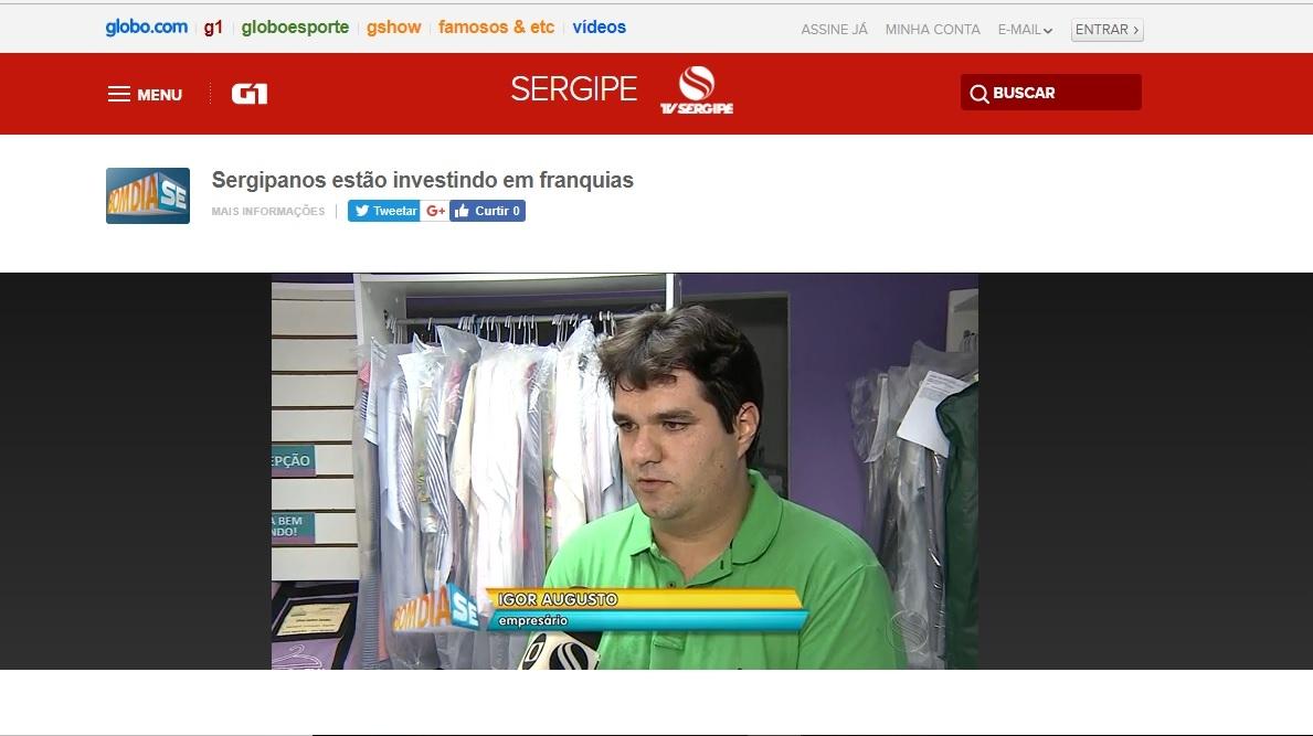 Bom dia Sergipe - Rede Globo